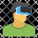 Virtual Glasses Goggles Icon