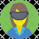 Virtual Reality Goggles Icon