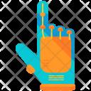 Virtual Reality Glove Icon