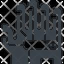 Sensor Glove Game Icon