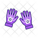 Interactive Research Glove Icon