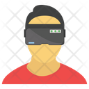 Vr Goggles Vr Eyewear Virtual Reality Icon