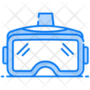 Vr Headset Virtual Goggles 3 D Glasses Icon
