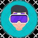 Vr Headset Vr Goggles Virtual Glasses Icon
