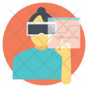 Vr Projection Virtual Icon