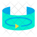 Vr Rotation O Degree Rotation Icon