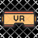 Vr Technology Vr Glasses Ar Icon