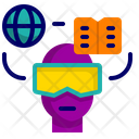 Vr Technology Diploma Paper Icon