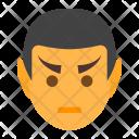 Vulcan head Icon