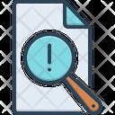 Vulnerable Report Risk Icon