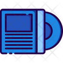 Vynil Musical Instrument Audio Player Icon