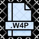 W 4 P File W 4 P File Icon