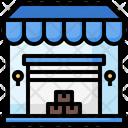 Store Grow Shop Shopping Center Icon
