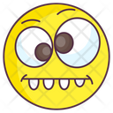 Wacky Emoji Goofy Expression Emotag Icon