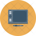 Graphic Tablet Drawing Icon