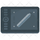 Digital Artboard Graphics Icon
