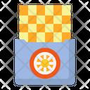 Wafer Biscuit Orange Flavour Icon