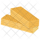 Wafers Crunchy Confectionery Icon