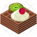 Waffels Sweet Dessert Icon