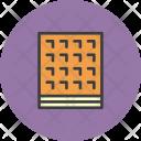 Waffle Dessert Biscuit Icon