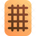 Waffle Belgian Snack Icon