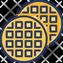 Waffle Viennese Dessert Icon