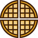 Waffle Sweet Meal Icon