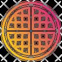 Waffle Food Restaurante Icon