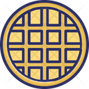 Waffle Food Wafer Icon