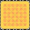 Waffle Square Waffle Dessert Waffle Icon