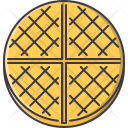 Waffle Wafer Food Icon