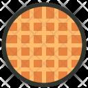 Waffle Breakfast Toast Icon