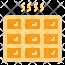 Waffle Sweet Bakery Icon