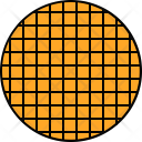 Waffle Biscuit Icon
