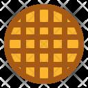 Waffle Bakery Food Icon