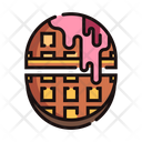 Waffle Biscuit Sweet Icon