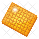 Cookie Waffle Biscuit Bakery Item Icon