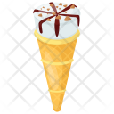 Waffle Cone Butterscotch Icon