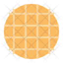 Waffle Cracker Cookie Icon