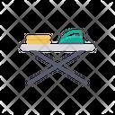 Waffle Iron Iron Ironing Icon