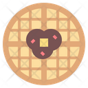 Waffles Meal Toast Icon