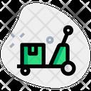Waggon Package Trolley Trolley Icon