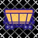 Wagon Rail Transport Icon
