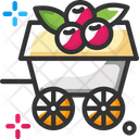 Wagon Fruit Food Icon
