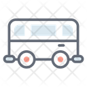 Wagon Taxi Cab Icon