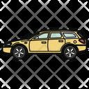 Auto Wagon Car Icon