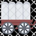 Wagon Cart Transport Icon