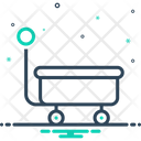 Wagon Caravan Cart Icon