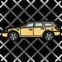 Wagon Car Automobile Icon