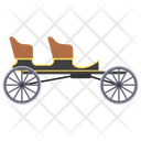Wagonette Wagonette Cart Horse Driven Icon